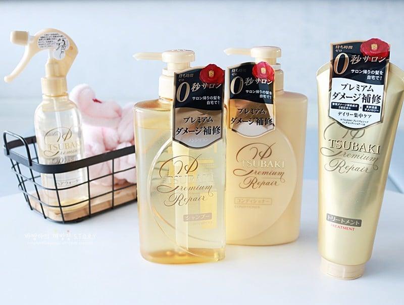 Dầu Gội Phục Hồi Hư Tổn, Ngăn Rụng Tóc Tsubaki Premium Repair Shampoo – THẾ  GIỚI SKINFOOD