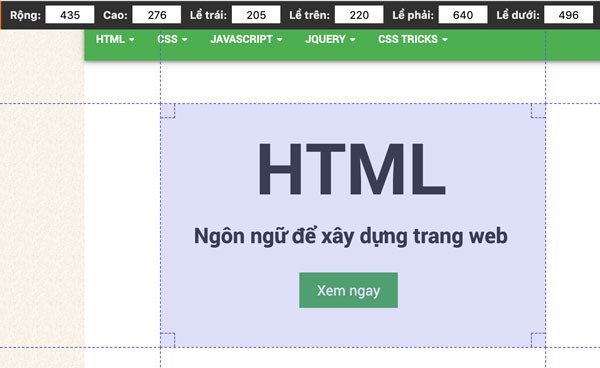 Chrome extensions page ruler redux