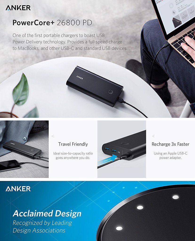 Anker PowerCore+ 26800 PD