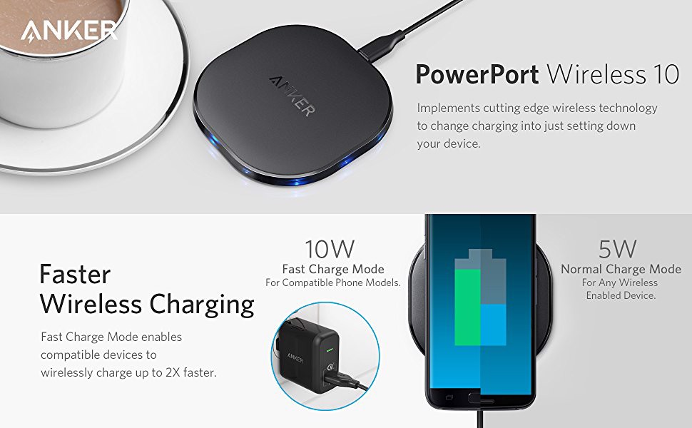 Anker Wireless Charger 10W