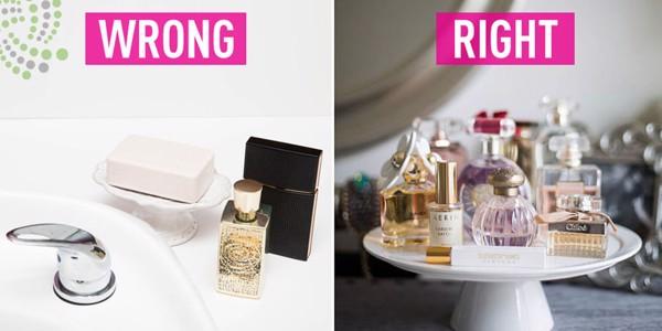 Bí quyết giữ nước hoa không bay mùi