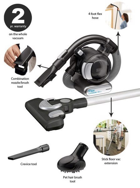 BLACK+DECKER BDH2020FLFH
