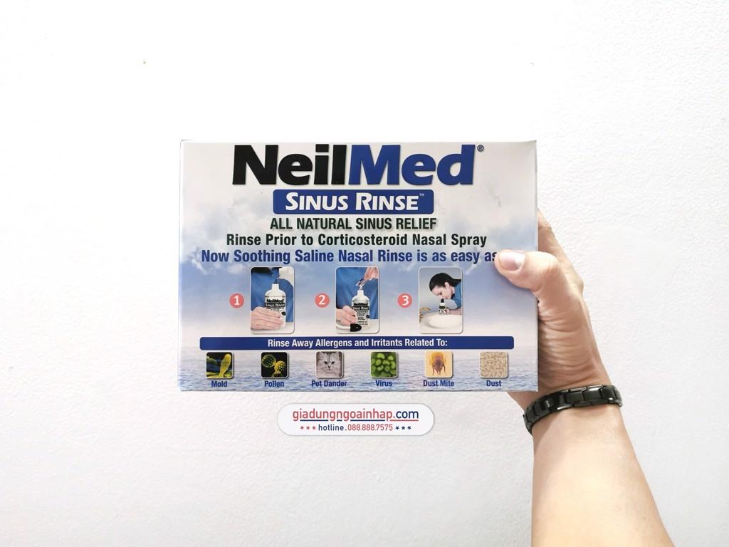 Bộ rửa mũi NeilMed Sinus Rinse 250