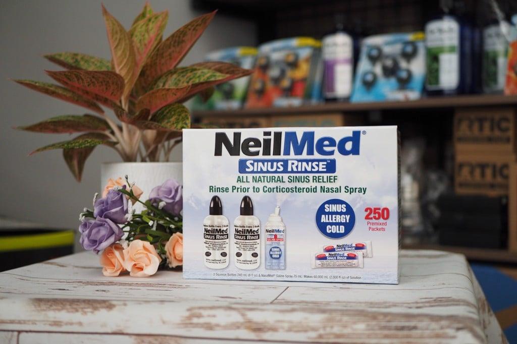 Bộ rửa mũi NeilMed Sinus Rinse 250 gói muối