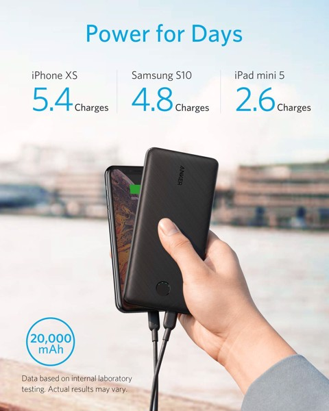 Pin dự phòng Anker PowerCore Essential 20000 PD