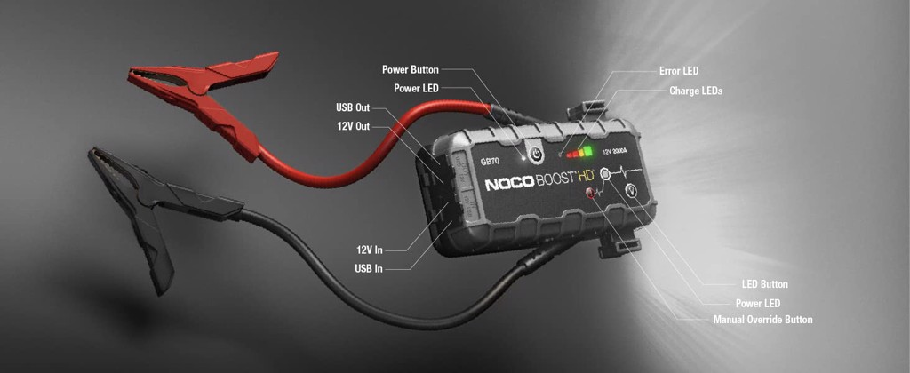 NOCO Boost HD GB70 2000Amp