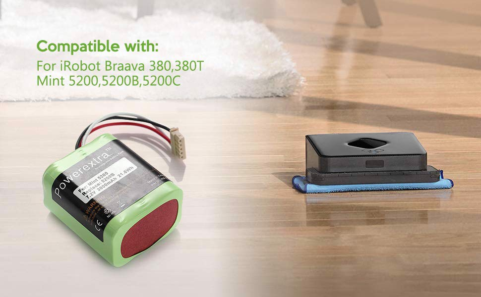 Pin thay thế iRobot 380T_Homegadgets