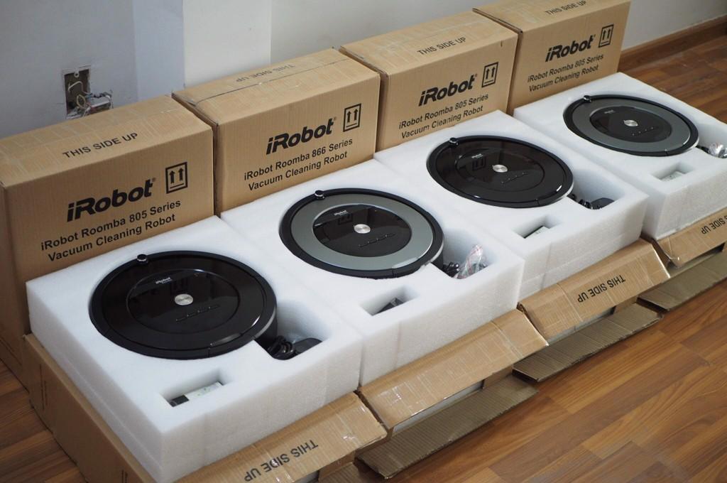 Máy hút bụi thông minh iRobot Roomba 866