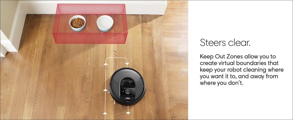 Robot hút bụi thông minh iRobot Roomba i7 Plus