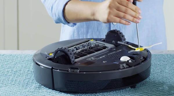 sử dụng robot hút bụi thông minh iRobot Roomba