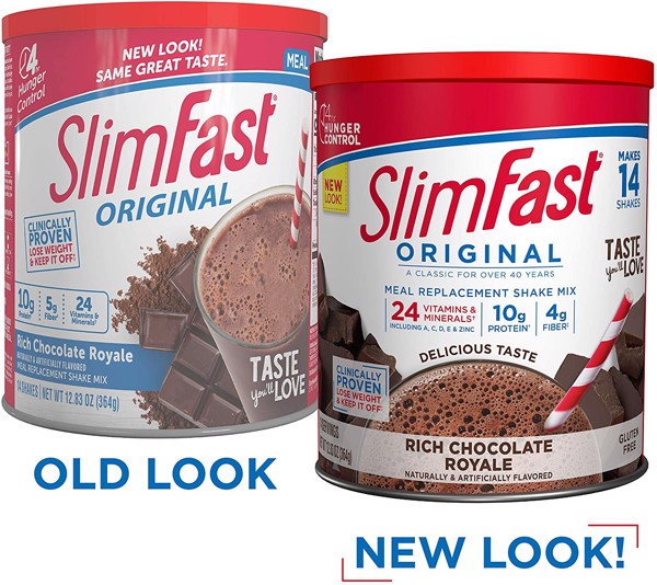 Sữa bột giảm cân Slimfast