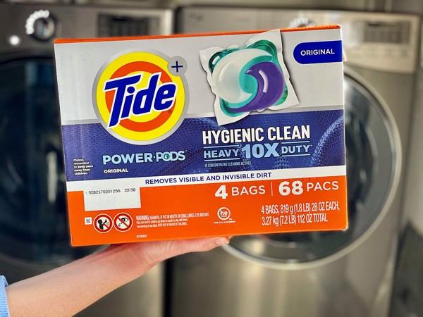 Viên giặt Tide Hygienic Clean Heavy 10x Duty