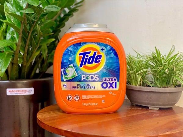 Viên giặt Tide Pods 4in1 Ultra Oxi (104 viên)