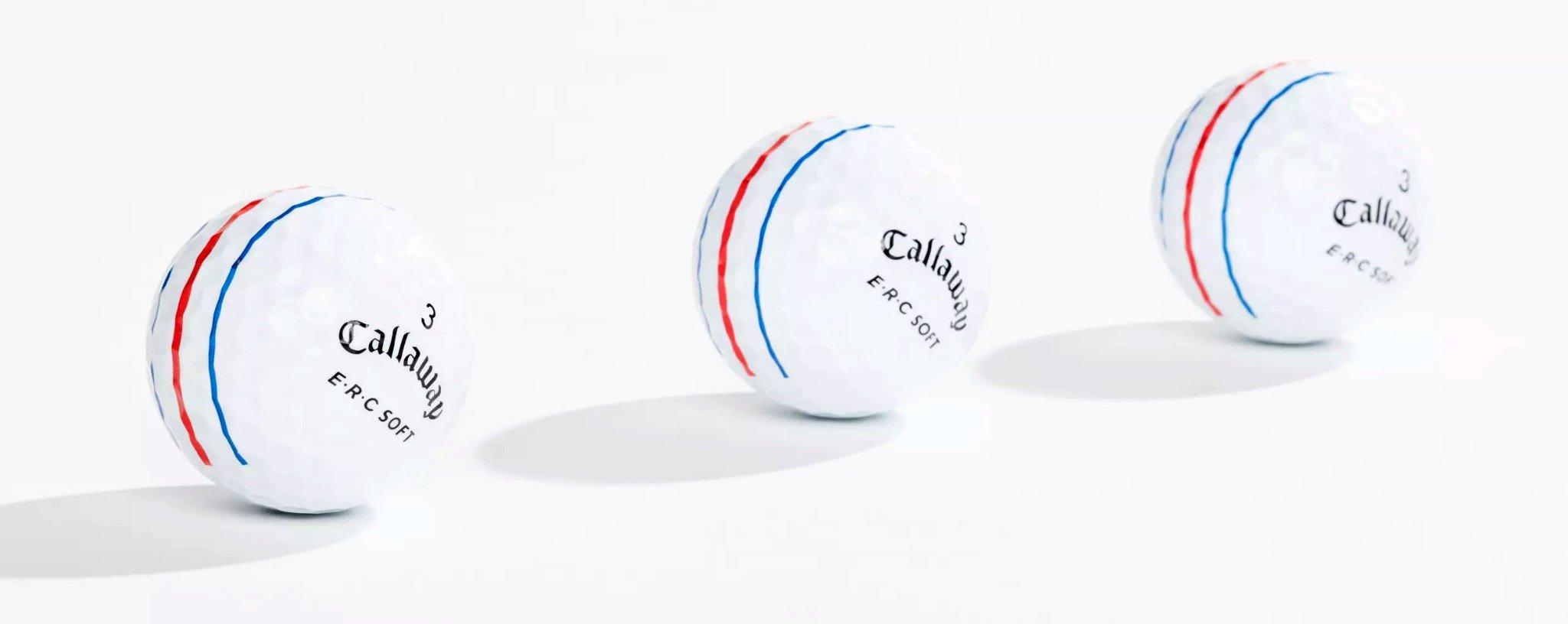 Bóng golf voi 3 line canh bóng