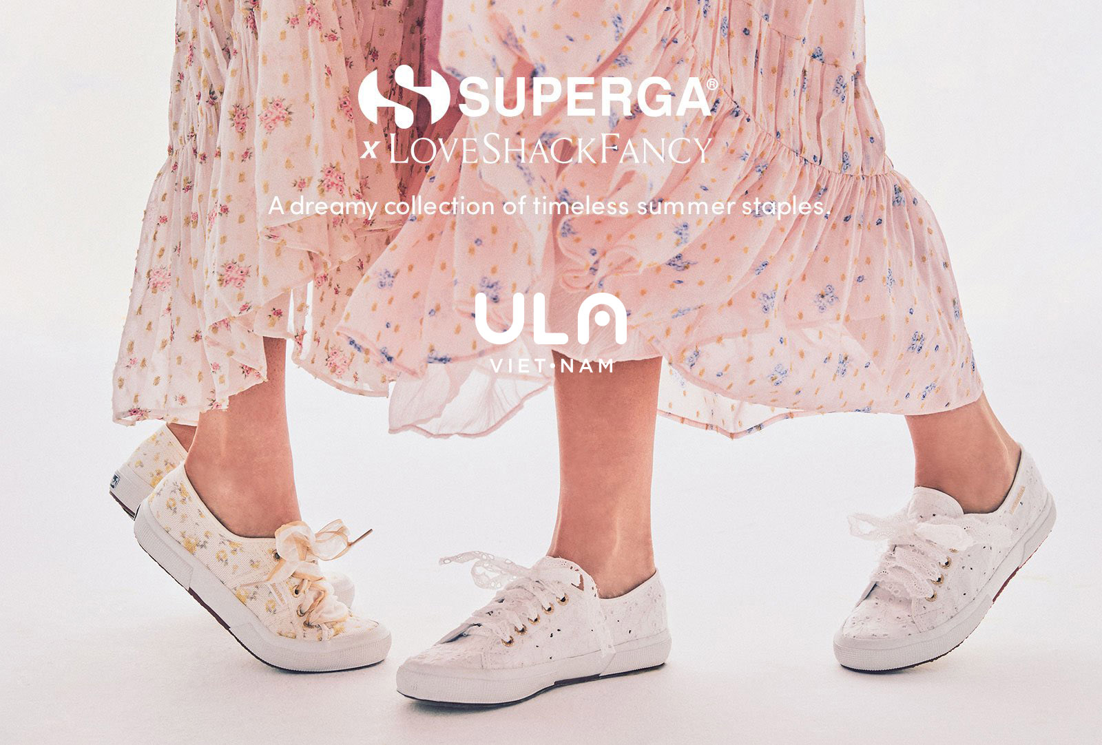 Superga x ULA Vietnam: Premium Online Shopping