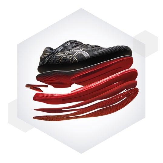 Công nghệ GUIDESOLE ™ được tạo ra với thiết kế đế rocker sáng tạo