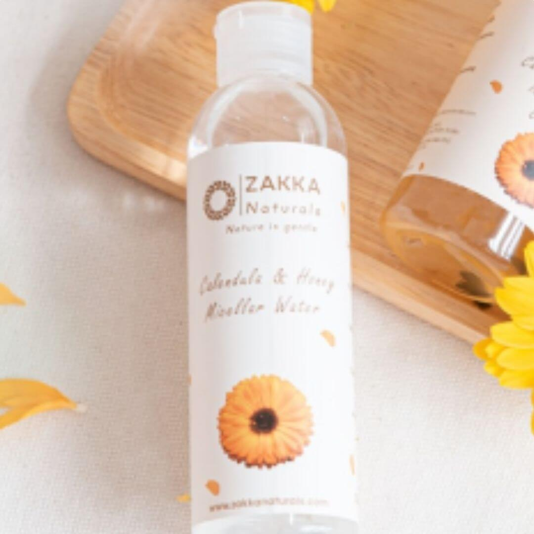 [HOW TO USE ZAKKA NATURAL CLEANSING OIL ]