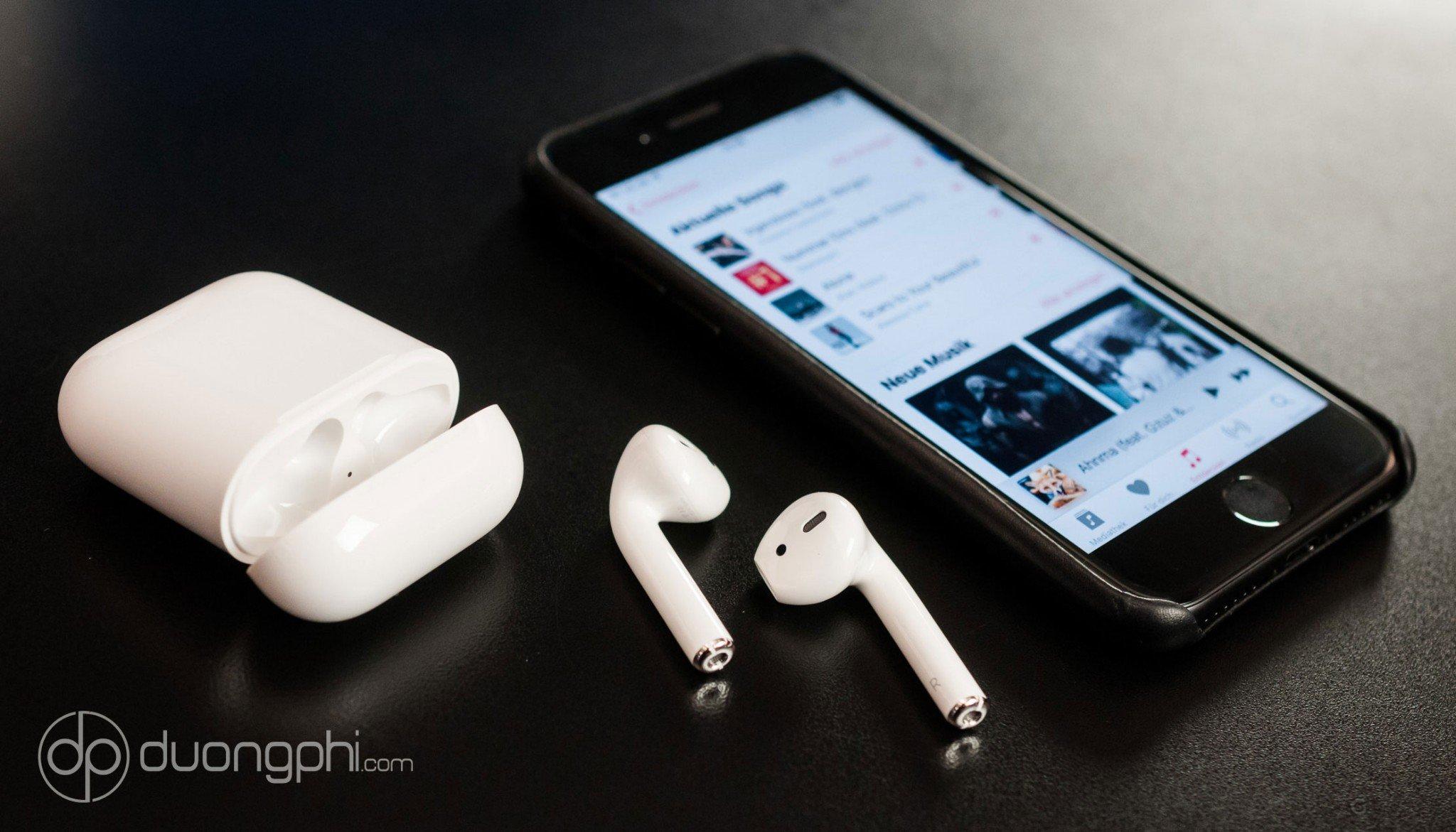 Tai nghe Bluetooth Aple AirPods 2 có khả năng kết nối nhanh hơn gấp 2 lần