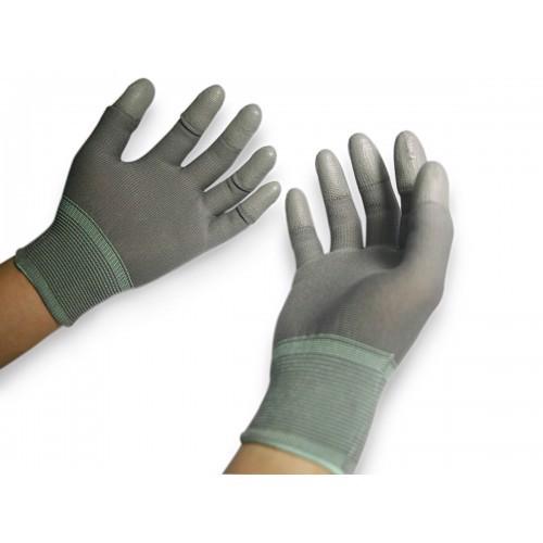 Găng tay chống tĩnh điện phủ pu đầu ngón là gì? giá rẻ mua ở đâu?