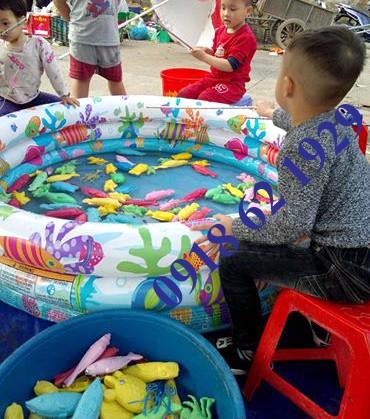 Đồ chơi cá nhựa, cá nhựa cân, bể câu cá nhựa, hồ câu cá nhựa - 1