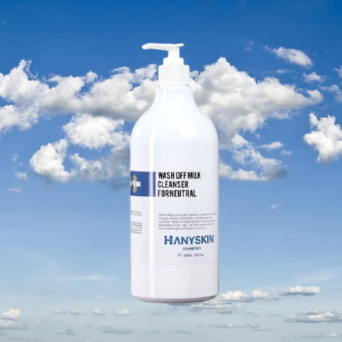 Sữa rửa mặt dịu nhẹ trung hòa Hany Skin Wash Off Milk Cleanser For Neutral