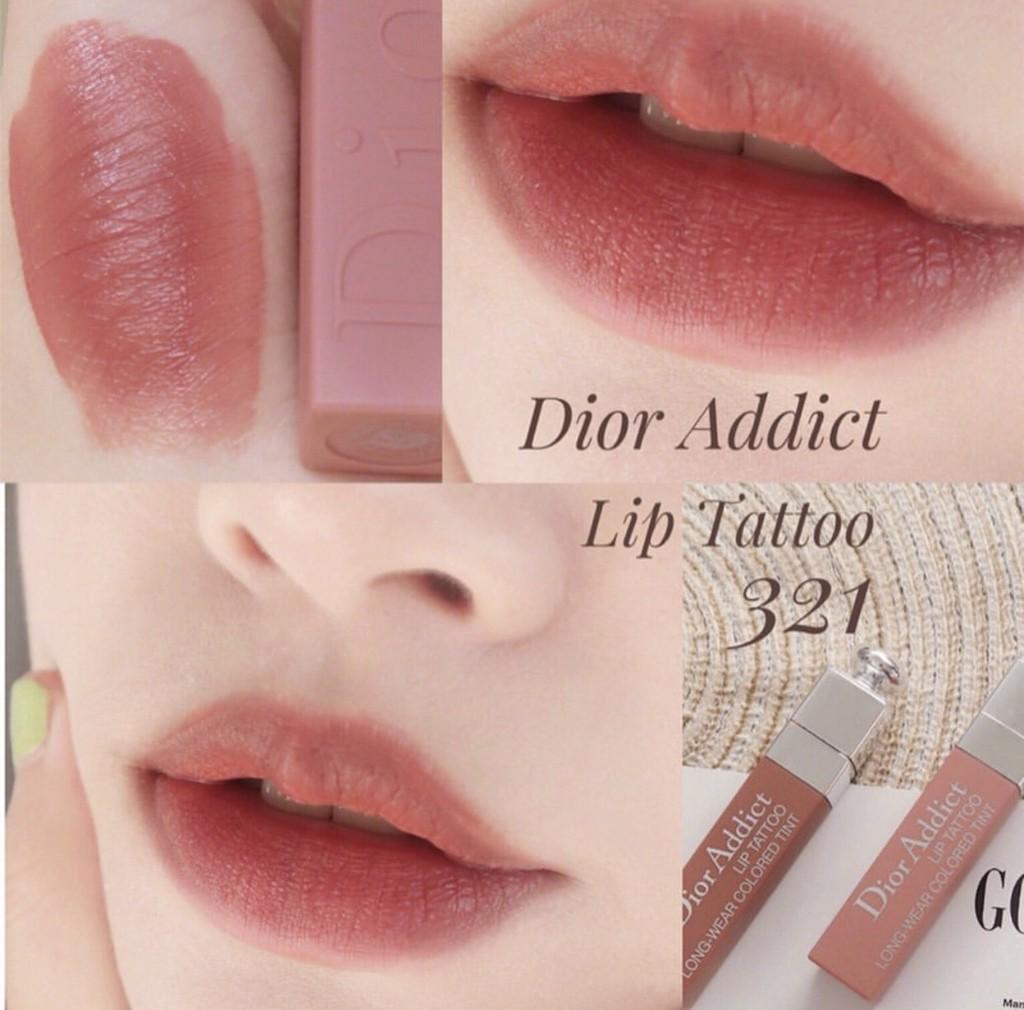 Son Dior Addict Lip Tattoo Màu 321 Natural Rose