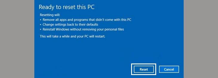 Cài đặt lại Win 10 cho PC, Laptop