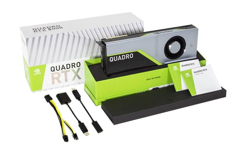 card đồ hoạ Leadtek Quadro RTX 5000 16GB GDDR6