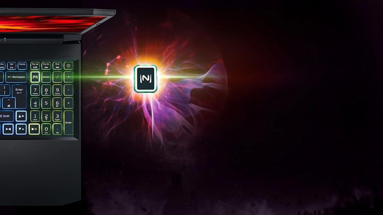 Điều khiển Acer CoolBoost bằng Nitro Sense- GEARVN.COM