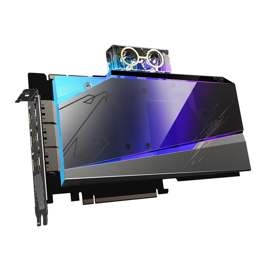 Card màn hình AORUS GeForce RTX 3090 XTREME WATERFORCE WB 24G