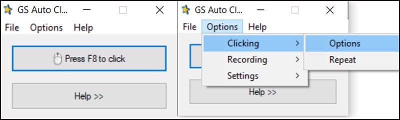 Cách tải và sử dụng Auto Click không chiếm chuột đối với hệ điều hành Windows.