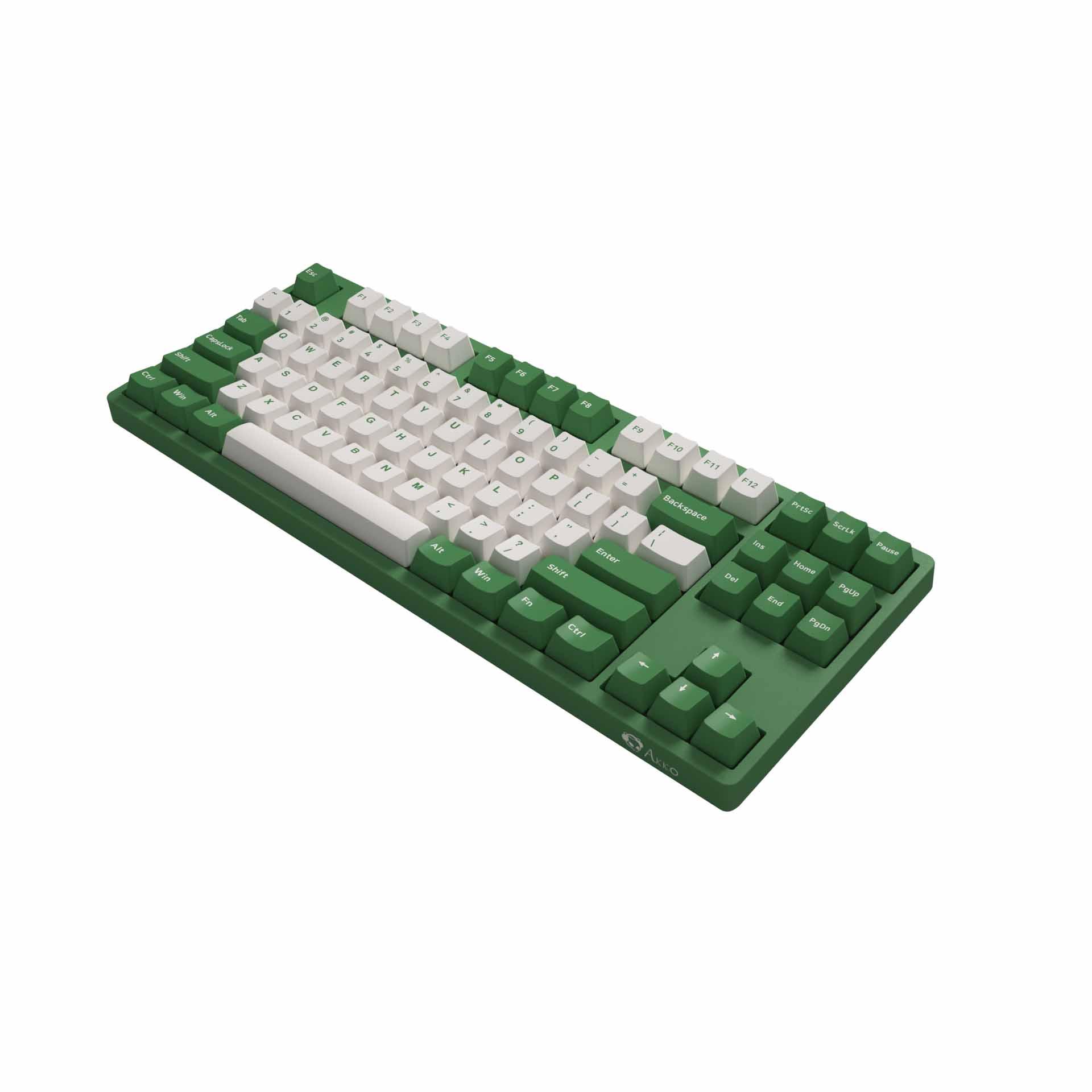 GEARVN.COM Bàn phím cơ AKKO 3087 v2 DS Matcha Red Bean (Akko switch v2)