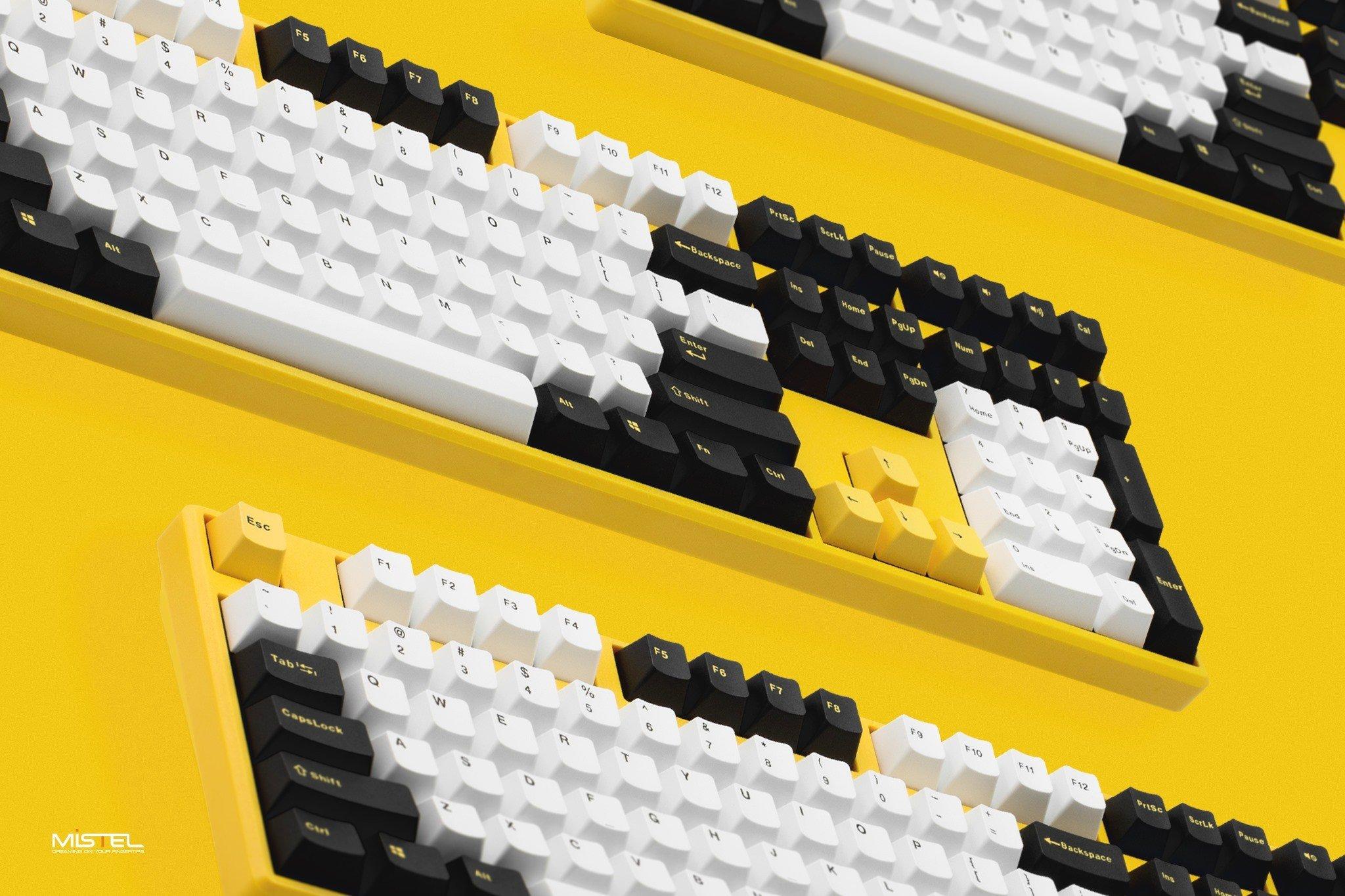 GEARVN.COM - Bàn phím cơ Mistel X8 Bumblebee