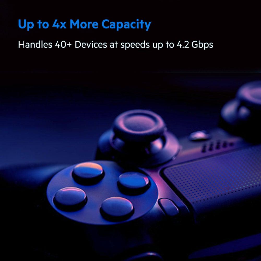 GEARVN.COM - Bộ định tuyến MESH WiFi 6 Linksys Velop MX4200-AH chuẩn AX4200 (1PK)