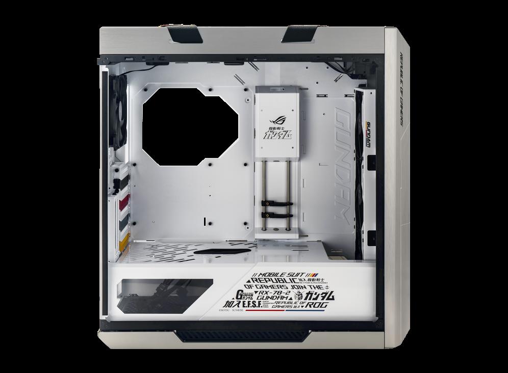 GEARVN.COM - Case ASUS ROG Strix Helios White GUNDAM Edition