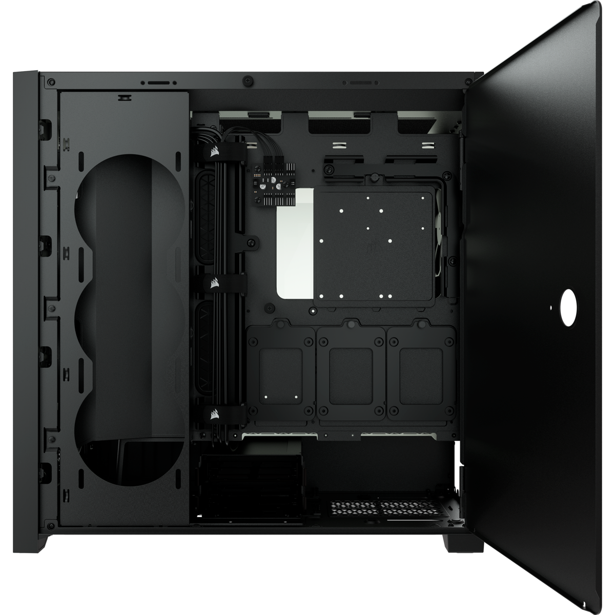 GEARVN.COM Case Corsair 5000D AIRFLOW Tempered Glass Black