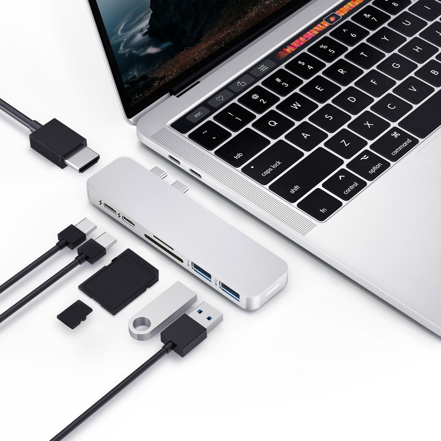 CỔNG CHUYỂN HYPERDRIVE DUO 7-IN-2 USB-C HUB FOR MACBOOK PRO 13″15″/MACBOOK 16″/MACBOOK AIR 13 2018/2019