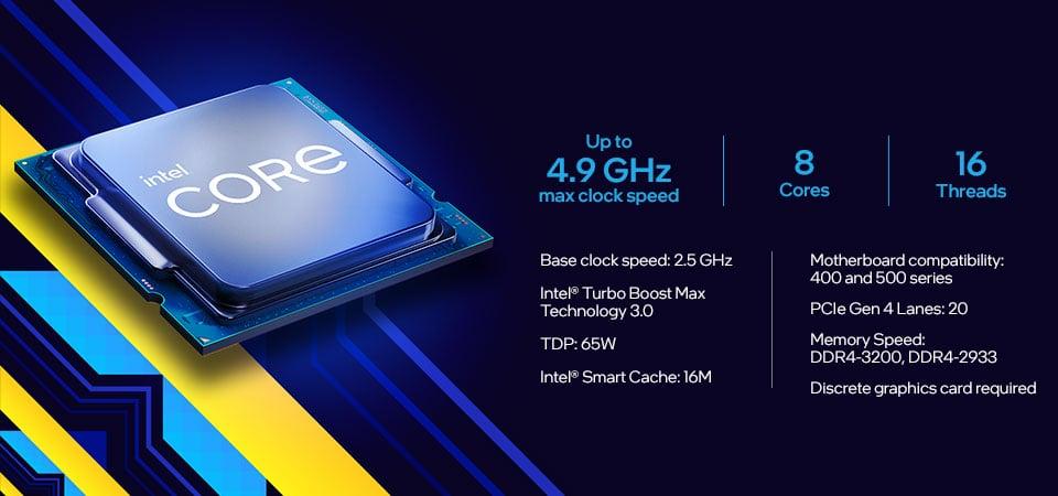 GEARVN.COM - CPU Intel Core i7-11700F