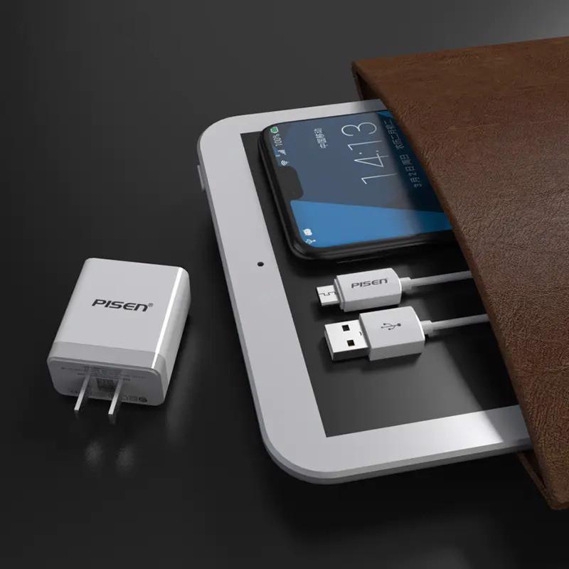 Hình ảnh sạc PISEN Quick USB Fast Wall Charger QC 18W - TS-C092