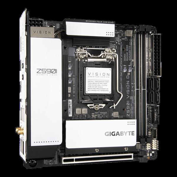 GEARVN.COM - GIGABYTE Z590i VISION D (rev. 1.0)
