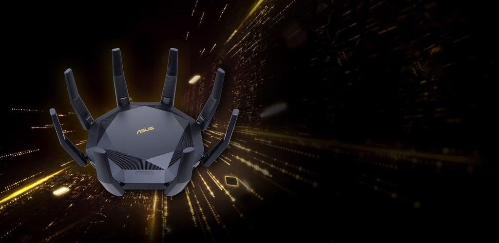 GEARVN.COM - Bộ định tuyến WiFi 6 Asus RT-AX89X
