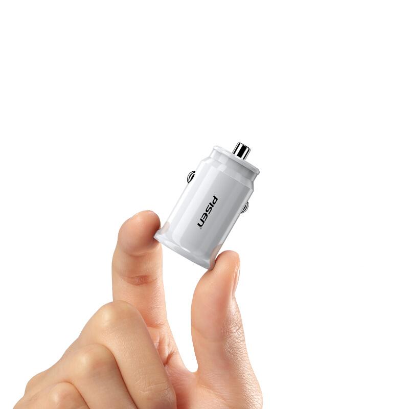 GEARVN.COM Sạc PISEN Dual USB Car 2.4A - Super small, FAST