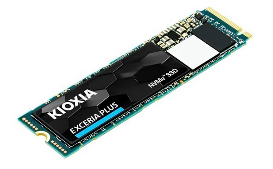 ổ cứng SSD Kioxia Exceria Plus M.2 PCIe NVMe 500gb (3400/2500 MB/s)