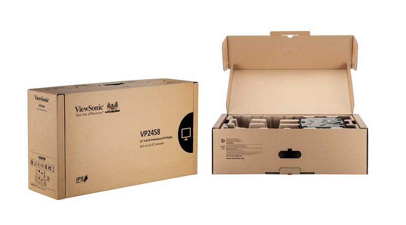 """Màn hình ViewSonic VP2458 chuyên đồ họa (24""""/IPS/FHD/60Hz/5ms/100% sRGB) 17"""