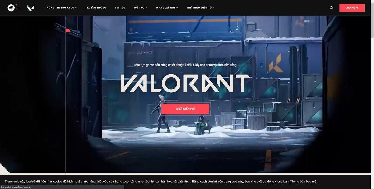 Hướng dẫn cách tải game Valorant trên laptop, máy tính