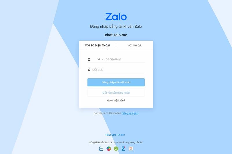 Hướng dẫn cài đặt Zalo, đăng nhập Zalo trên máy tính, laptop