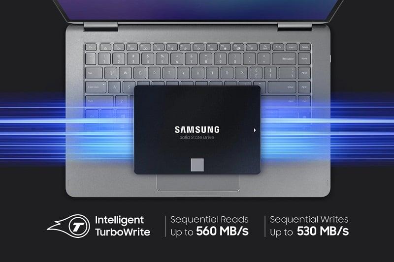 ổ cứngSSD Samsung 870 EVO 4TB 2.5
