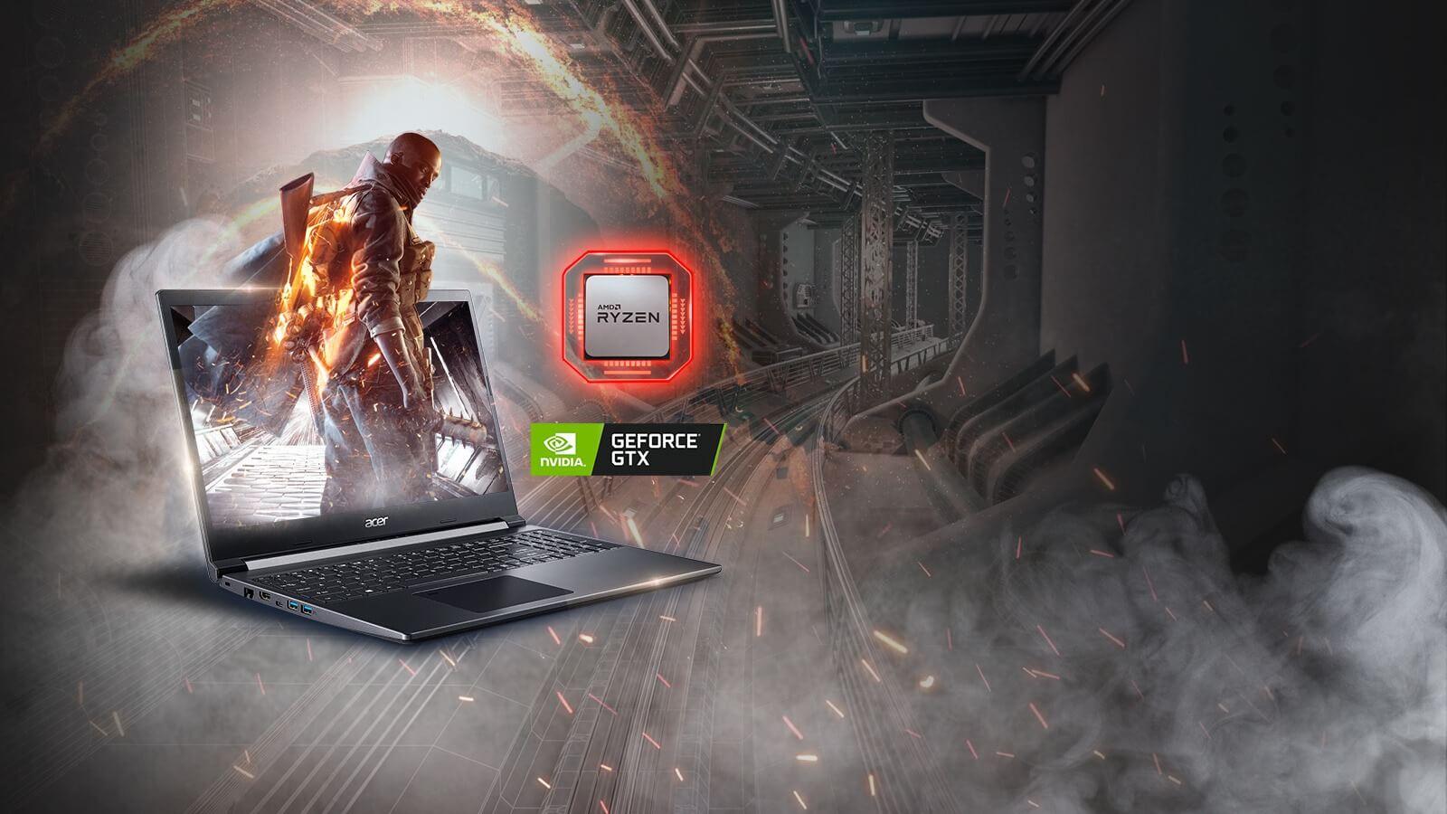 Hiệu năng của Acer Aspire 7 R4ST - GEARVN.COM