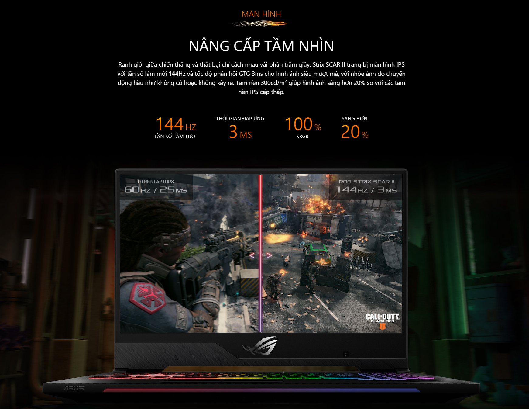 Laptop Gaming Asus ROG Strix SCAR II GL704GW-EV048T