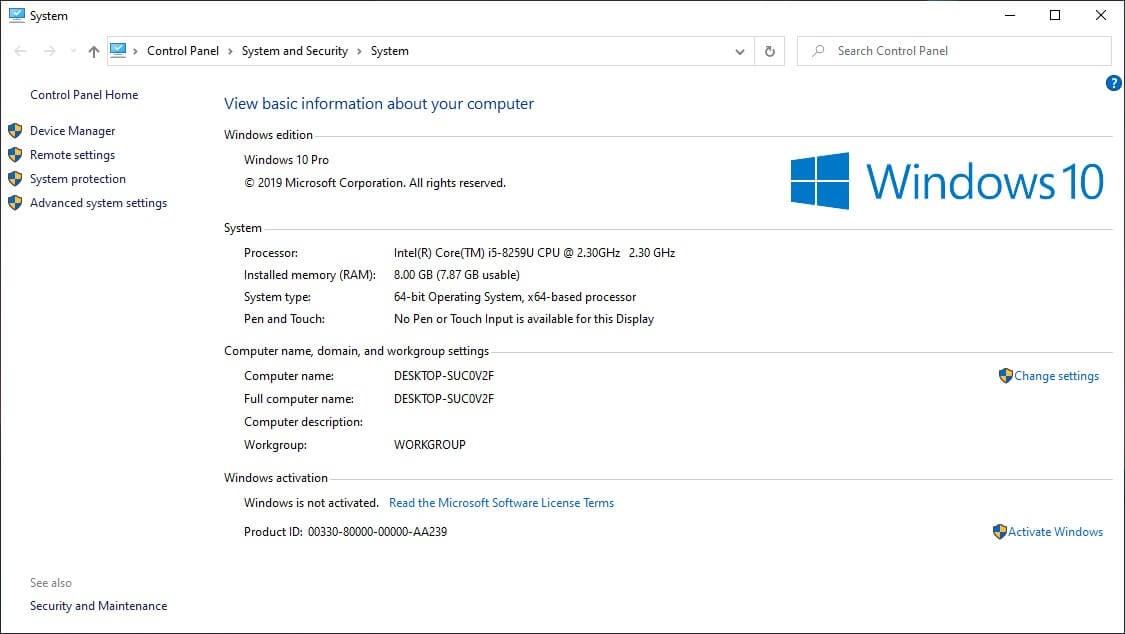 GEARVN.COM - Hướng dẫn kiểm tra cấu hình máy tính laptop đơn giản bằng Properties
